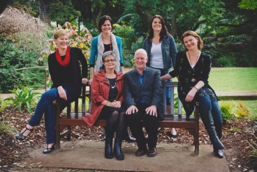 Looking dapper for family photos last year! (Colleen, mum, me, dad, Kerry and Janine)